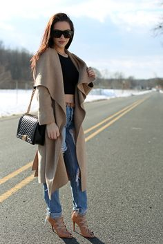 Black, Tan & Ripped Jeans | the Fashion Bybel @carlibybel