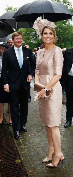 King Willem-Alexander and Queen Maxima visited North Rhine-Westphalia May 27, 2014