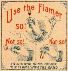 Funny Vintage Ads   Flamer via agence eureka flickr