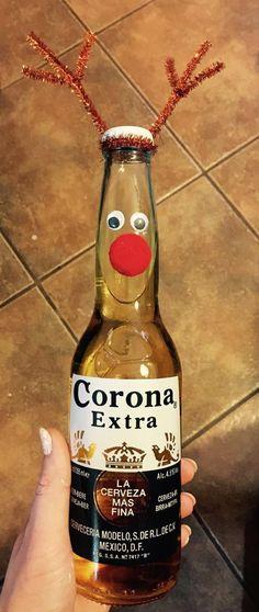 Christmas, gift, DIY, coronita Corona Extra, Corona Beer, I Foods, Beer Bottle, Drinks, Christmas, Gifts, Diy, Ideas