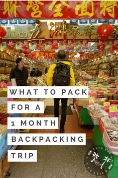 What To Pack for a 1 month backpacking trip Packing List For Vacation, Packing Tips For Travel, Travel Hacks, Packing Hacks, Vacation Checklist, Travel Guides, Backpacking List, Thing 1, What To Pack