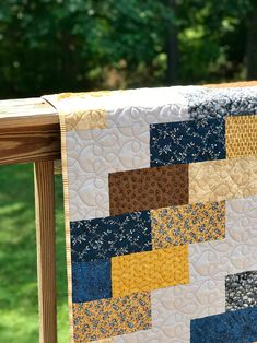 Easy Quilt for Beginners | rachelmhayes