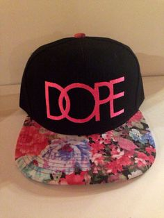 Hey, I found this really awesome Etsy listing at http://www.etsy.com/listing/158689997/dope-flower-print-brim-snapback