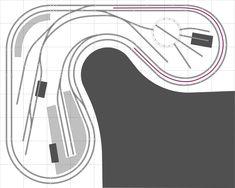 Free Track Plans for your Model Railway #modeltrainplans #modeltraindiy