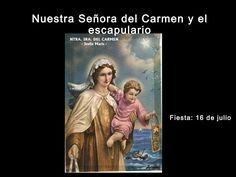nuestra-seora-del-carmen-y-el-escapulario-24307653 by Guillermo Sierra via Slideshare
