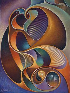 Dynamic Series #23 Print by Ricardo Chavez-Mendez