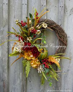 Bradford Autumn Garden Wreath