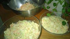 Tupun tupa: Italianpataa ja coleslaw-salaattia