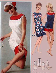 Vintage Pattern by Butterick 1960's