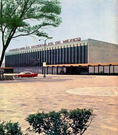 Buenavista Train Station Mexico City 1966