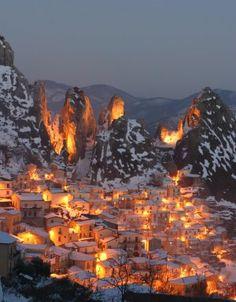 castelmezzano potenza south italy~ Where my Nana was born