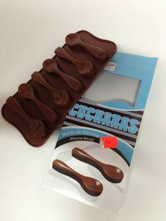 Molde silicona para bombones mod cucharitas