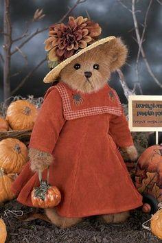 Bearington-Bears-Holly-Harvesting-14-Collectible-Bear-Sku-1770-NWT-2006