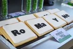 Periodic Table Cookies {Science Party}