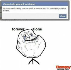 funny friday pictures forever alone