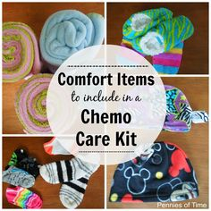 Service Project for Kids: Comfort Items to Give to Cancer Patients | Pennies Of Time: Teaching Kids to Serve