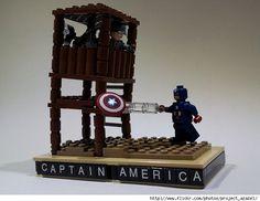 Captain America Lego