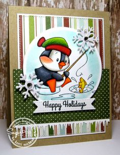 Cards by Kerri: SPD11 Challenge-Winter Wishes