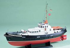 Krick Grimmershorn Motor Vessel Model Boat Kit