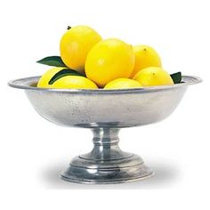 Match Pewter Fruit Compote 8.2 inches Diameter x 4.2 inches High