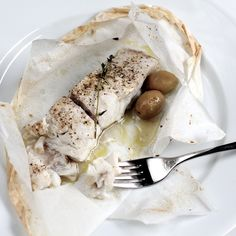 """Tired of serving salmon at every dinner party? Try this simple, make-ahead dinner party favorite - """"Fish En Papillote"""""""