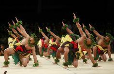 Friday's hula kahiko competition