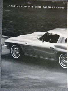 1964 Corvette Advertisement 2 page