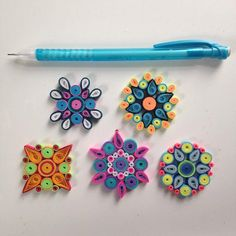 These are great for any magnetic space! They are all different and come with magnets that will hold 2.5lbs. They are approximately 1.5in in diameter. You can request a color theme
