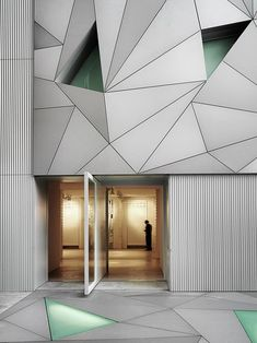 ABC Museum, Illustration and Design Center / Aranguren & Gallegos masterpiece architecture La Shed Architecture, Installation Architecture, Contemporary Architecture, Amazing Architecture, Architecture Details, Origami Architecture, Concrete Architecture, Deco Design, Wall Design