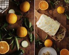 Orange Blossom Zucchini Bread is a warm and fragrant treat from The Broken Bread. Happy #baking!