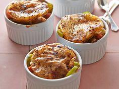 Slimmed Down - Chicken Pot Pie recipe from Food Network Kitchen via Food Network