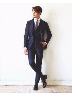 Icon Humphrey Suit Navy