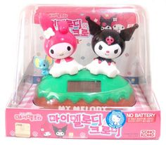 Sun Powered sunshine buddies My Melody & Kuromi Sanrio