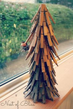 tutorial: Clothespin Christmas Tree