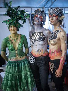 QLIO.ORG - FOTOS: Elfia 2014 BodyPaint Body Paint in Elfia Bodipaint...
