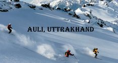 #Auli is a beautiful hill destination, nestled in the #picturesque northern Indian state of #Uttrakhand. Although only recently been growing in popularity, Auli is one of the favourite #skiing spot for #tourists. Call 91-9716553933  #VacationTravel #Travel #Tours Travel Companies, Vacation Trips, Vacation Travel, Local Attractions, Life Is An Adventure, India Travel, Tourism, Mount Everest, Beauty