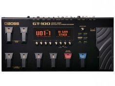 Pedaleira para guitarra - Boss GT 100