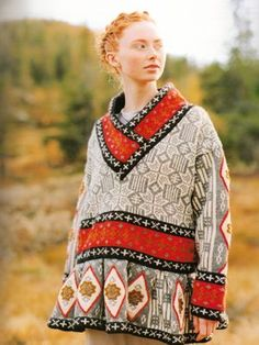 Pattern Books knitting patterns, Norwegian Knitting Designs, Lunde sweater, from Laughing Hens Knitting Charts, Hand Knitting, Norwegian Knitting Designs, Motif Fair Isle, Fair Isle Knitting, Knitwear, Knitting Patterns, Knit Crochet, Textiles