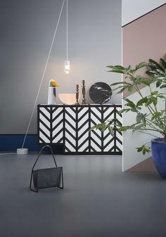 Living - Styling by Alessandra Salaris - Foto Beppe Brancato lamp andtradition http://decdesignecasa.blogspot.it