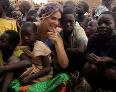 Giovanna Ewbank esteve na África para matéria do Domingão do Faustão (Foto: Arquivo Pessoal)