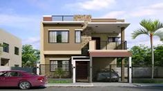 Small two storey house design small two story house plans two story house design wonderful small . small two storey house design 3 Storey House Design, Two Story House Design, 2 Storey House, Duplex House Design, Glass House Design, Simple House Design, Minimalist House Design, Modern House Design, Narrow House Designs