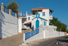 Samos Greece, Shabby Chic, Mansions, House Styles, Home Decor, Decoration Home, Manor Houses, Room Decor, Villas