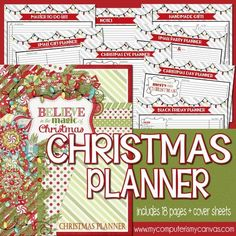 Christmas Planner Kit PRINTABLE | My Computer is My Canvas