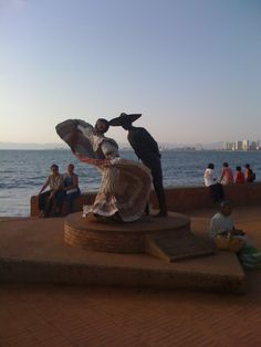 Malecon, Puerto Vallarta, Mexico.                Amor Tapatio!