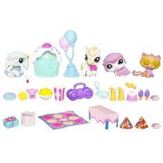 Amazon.com: Littlest Pet Shop Festive Friends: Toys & Games