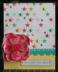 Scrapbook & Cards Today: You Are The Best