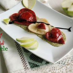 Cuori di ravioli alle mele