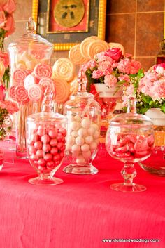 candy bar -love the pinks!
