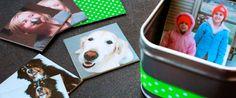 Faça você mesmo um JOGO DA MEMÓRIA DA FAMÍLIA, feito com fotos da sua família. Confira o passo a passo em nosso blog: http://dicasdacasa.com/jogo-da-memoria-da-familia/