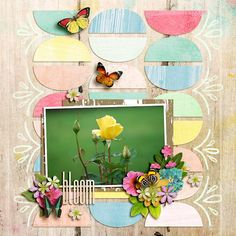 Credits:  - Singleton 67: Macaron - Brook Magee  http://www.sweetshoppedesigns.com/sweetshoppe/product.php?productid=36651&cat=899&page=1  - Addiction: Flowers & Stuff - Studio Basic Designs  http://www.sweetshoppedesigns.com/sweetshoppe/product.php?productid=36634&cat=899&page=1  - Perfectly Painted Backgrounds - Studio Basic Designs  - Spring Is Here - Amanda Yi Designs, Studio Basic Designs and Two Tiny Turtles